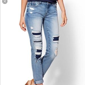 New York & Co. ripped Jeans